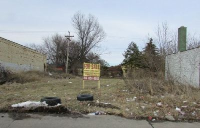 Commercial Land Foreclosure Sale : $4,900