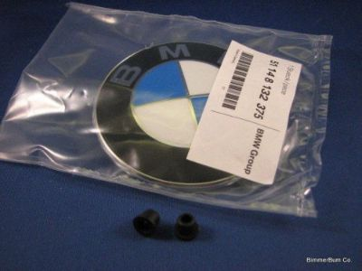 Sell BMW Hood & Trunk Emblem Factory Part w/ Grommets E38 740i 740iL 750iL NEW motorcycle in Orlando, Florida, United States, for US $35.49