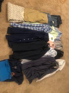 Lot of men s designer clothes