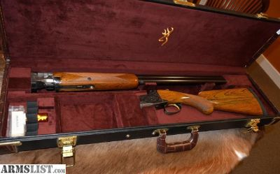 For Sale: Browning Superposed 1968 NO SALT WOOD 12 ga 28