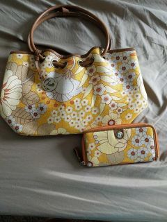 Spartina purse and matching wallet