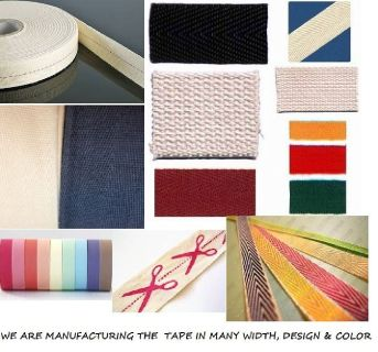 Cotton Twill Tape/ Polyester Tape/ Herring Bone Tape/ Printed Cotton Twill Tape