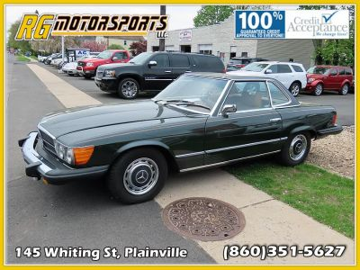 1975 Mercedes-Benz 450SL 2dr Roadster (Green)