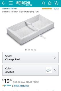 New- Changing Pad