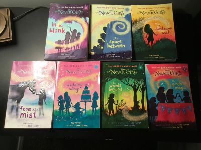 The Never Girls books 1-7, and book 11
