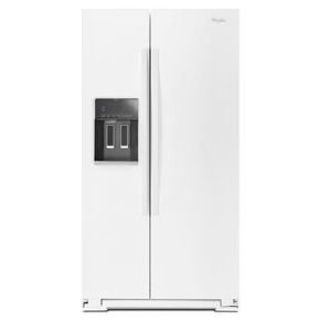 "Whirlpool 36"" Side by Side Refrigerator WRS586FLDW *Closeout*"