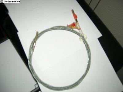 Genuine Porsche,Clutch Cable,NOS, West German