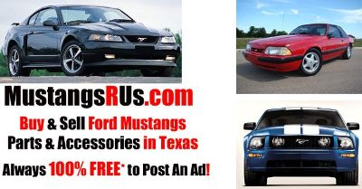Looking to Sell 3rd, 4th, or 5th Generation Ford Mustang Parts
