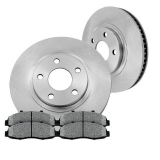 Sell Front Brake Rotors and Metallic Pads JEEP GRAND CHEROKEE WRANGLER COMANCHE TJ XJ motorcycle in Orland Park, Illinois, United States, for US $59.68