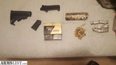 For Sale/Trade: 9mm ammo and ar15 parts