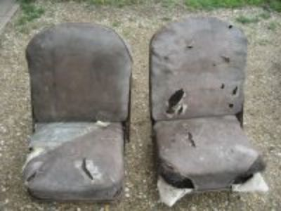 1940's 1950's Chevrolet GMC Panel Truck Front Seats!!!