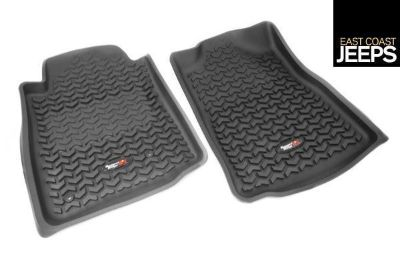 Sell 82904.10 RUGGED RIDGE Front Floor Liners, Black, 05-11 Toyota Tacoma motorcycle in Smyrna, Georgia, US, for US $89.99