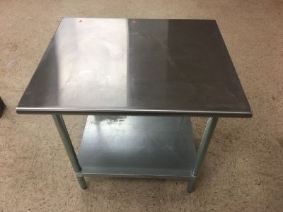 """Advance Tabco 30"""" x 36"""" S/S Work Table RTR#8073751-24"""