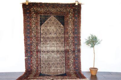 "Persian Rug, Antique Serabend - 3'6"" x 5'9"""