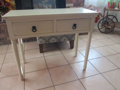 Two Drawer Table