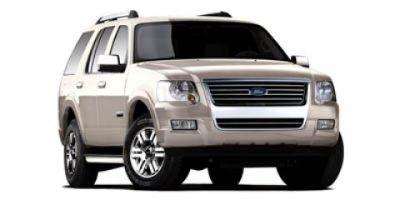 2008 Ford Explorer XLT (White)