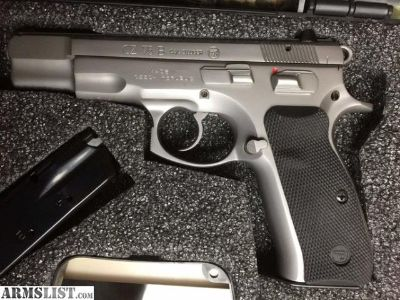 For Sale: Brand new Matte stainless CZ 75B