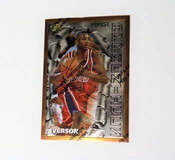1996 Allen Iverson 76ers Topps Apprentices #69 A23 Basketball Card