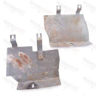 Find Corvette OEM Underbody Firewall Steel Inner Splash Shield Pair w/ AC L1969-1975 motorcycle in Livermore, California, United States, for US $49.99