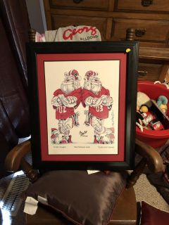 Uga numbered picture