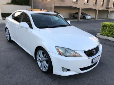 2007 Lexus IS 250 Base (White)