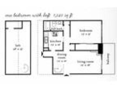 Cedar Heights - 1 BR Loft - 1240 SQ FT