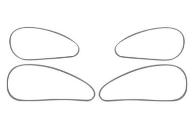 Purchase ACC 711008 - PT Cruiser Polished Door Handle Trim 4 Pcs Interior Accessories motorcycle in Hudson, Florida, US, for US $76.18