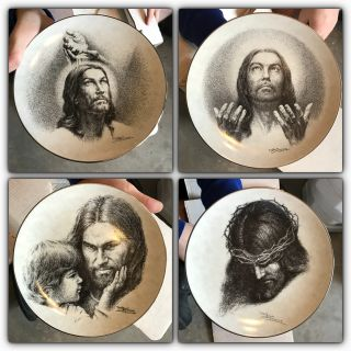 Portraits of Christ plates