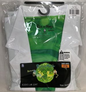 Rick and Morty Lab Coat Costume from Adult Swim