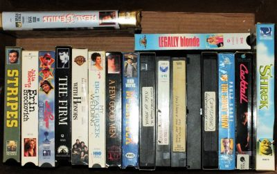 Group of 35 VHS Movies