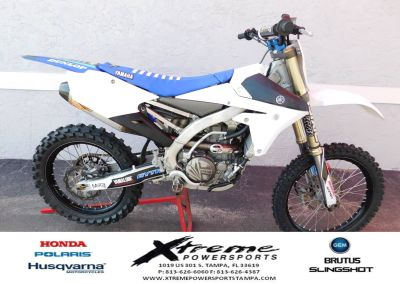2017 Yamaha YZ 450F Competition/Off Road Motorcycles Tampa, FL
