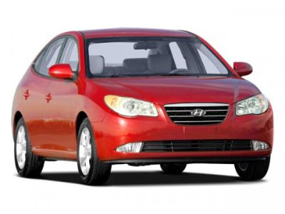 2008 Hyundai Elantra GLS (Gray)