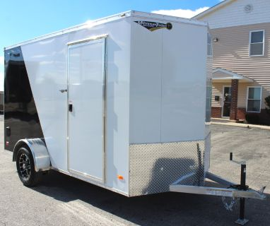 Say Goodbye to Rust! 6'x12' All Alum. Cargo Trailer