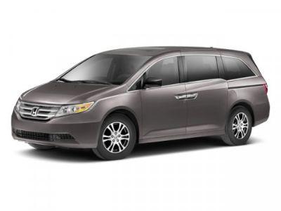 2013 Honda Odyssey EX-L w/DVD (Alabaster Silver Metallic)