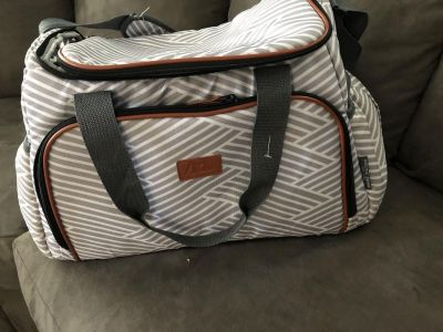 Artic zone insulated duffle bag!