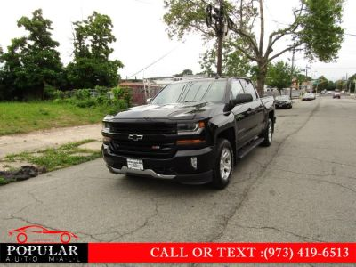 "2016 Chevrolet Silverado 1500 4WD Crew Cab 143.5"" LT w/1LT (Black)"