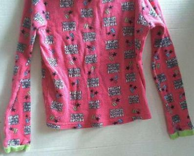 Bright Pink Girls PJ's - Disney High School Musical - Size 12 - Preowned