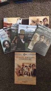 Classic literature collection DVDs