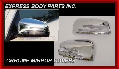 Find W212 GLK W204 E C CLASS MIRROR CHROME COVERS MERCEDES HOUSING C250 C300 C350 motorcycle in North Hollywood, California, US, for US $59.00