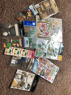 Scrapbooking lot.$10 for all.. lot6