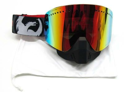 Find Dragon NFX Snow Snowmobile Goggles - Bullets Black Red w/ Red Ion Lens 722-1550 motorcycle in Sauk Centre, Minnesota, US, for US $107.95