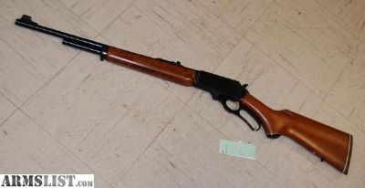 For Sale: Marlin Model 375 Chambered In 375 WIN 20 Inch Lever Action Rifle.