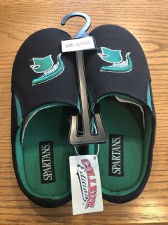 New Michigan State Spartans Slippers - Size Large (11/12)