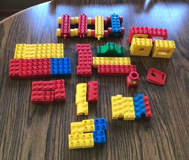 Duplo like blocks