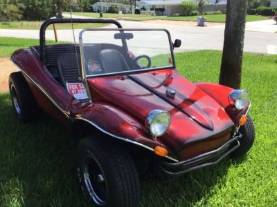 1970 California shell dune buggy .