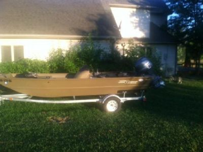 2013 G3 1860SC Jon Boat with trailer
