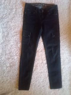 Patagonia Skinny Jeans Cargo Pockets Size 26 Womens