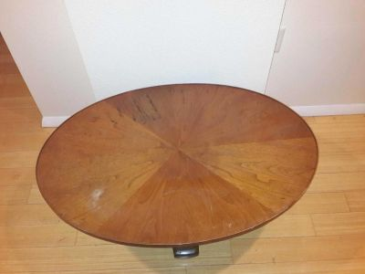 **REDUCED** Round Oval Coffee Table