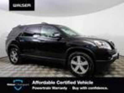 used 2012 GMC Acadia for sale.