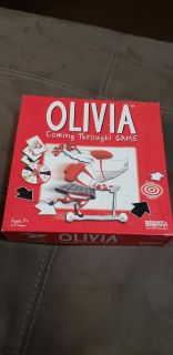 Olivia Coming Through! Game. Ages 7+